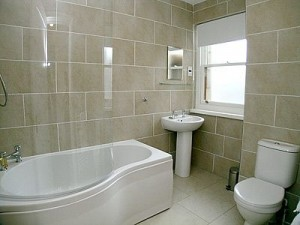 bathroom of holiday cottages