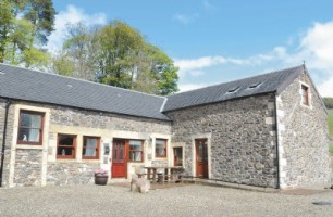 outside of Mount Herrick holiday cottages