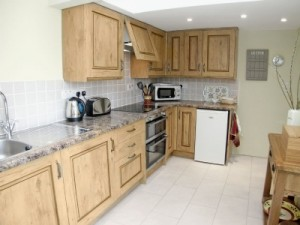 kitchen in holiday cottages